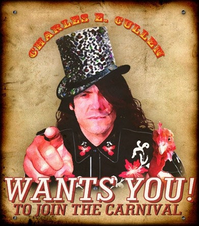 Charles Cullen Wants You Banner