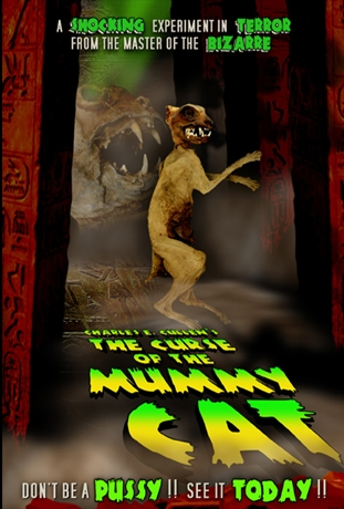 Curse Of The Mummy Cat Poster