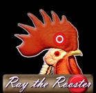 Ray The Rooster Button