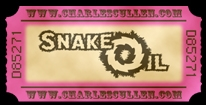 Welcome Snake Oil Button